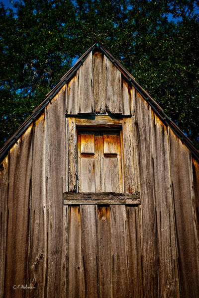 Photograph - Weathered Structure by Christopher Holmes