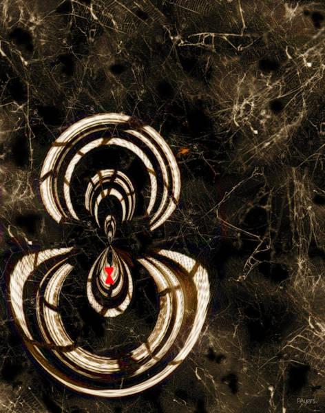 Cellar Digital Art - Web Mistress by Paula Ayers