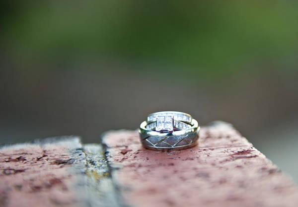 Jewelery Photograph - Wedding Rings by Malania Hammer