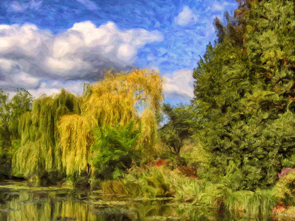Painting - Weeping Willows by Dominic Piperata