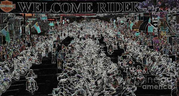 Photograph - Welcome Riders by Anthony Wilkening