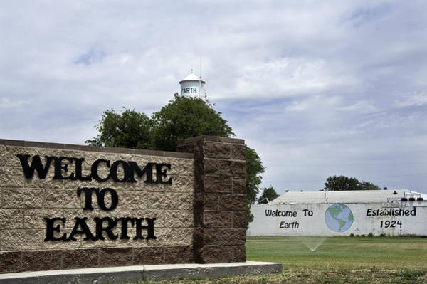 Photograph - Welcome To Earth by Melany Sarafis