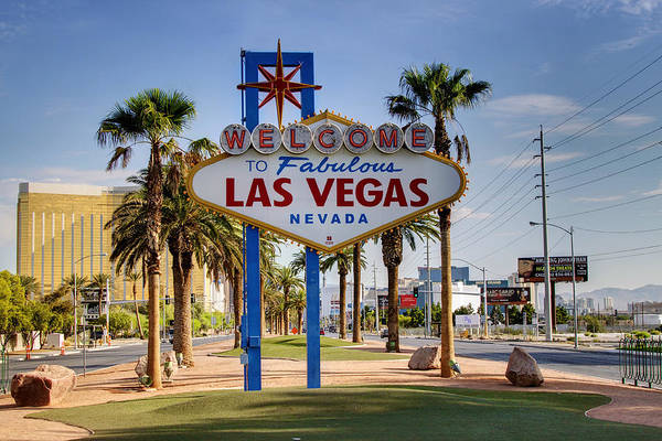 Fabulous Photograph - Welcome To Las Vegas Series by Ricky Barnard