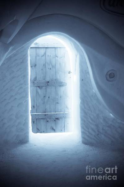 Digital Effect Photograph - Welcome To The Ice Hotel by Sophie Vigneault