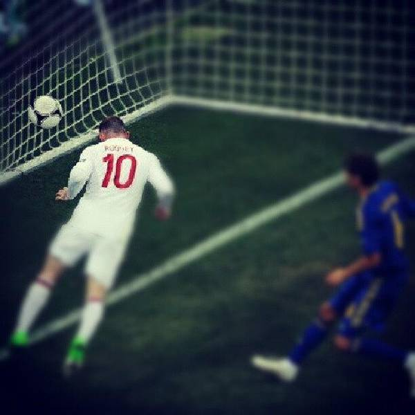 Athletes Wall Art - Photograph - Well Done To England! #euro #2012 by Mohsen Khan   Alexander Pathan Yusufzai