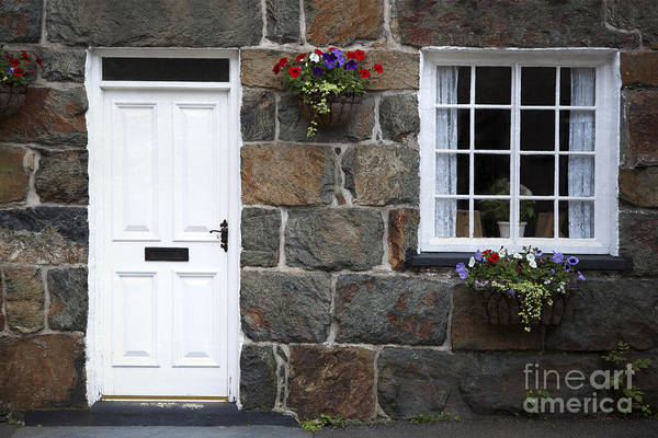 Hanging Rock Photograph - Welsh Cottage Detail by Jane Rix