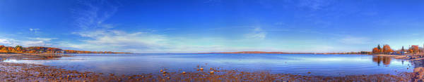 Traverse City Photograph - West Bay In Traverse City by Twenty Two North Photography
