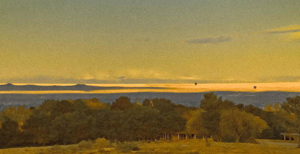 Albuquerque, New Mexico - West Mesa Landscape Art Print