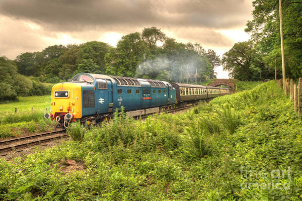Wall Art - Photograph - West Somerset Deltic by Rob Hawkins