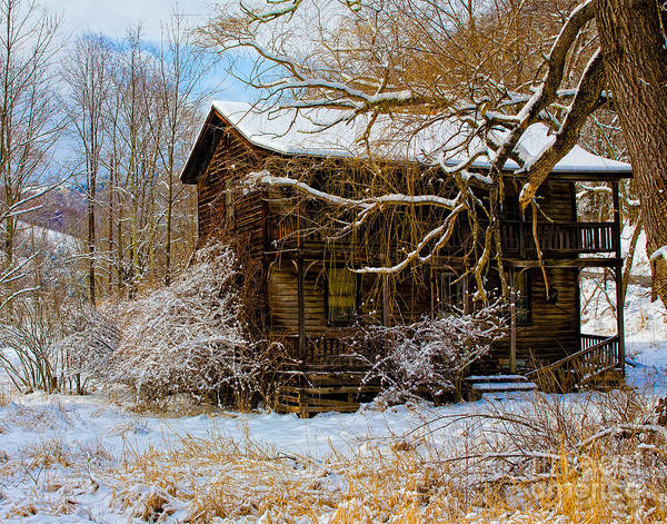 Photograph - West Virginia Winter by Ronald Lutz