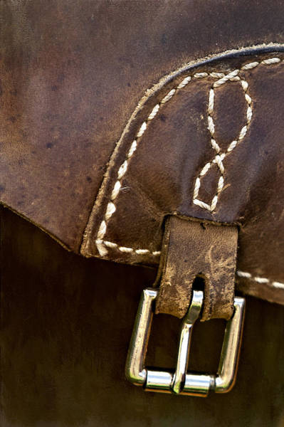 Photograph - Western Chaps Detail by Susan Candelario