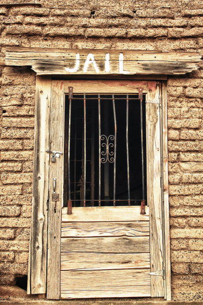 Photograph - Western Jail House Door by James BO Insogna