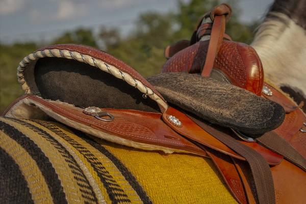 Photograph - Western Saddle by Susan Candelario