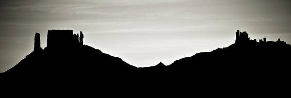 Photograph - Western Silhouette by Marilyn Hunt