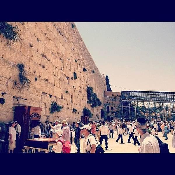 Wall Art - Photograph - #westernwall #israel by Tzvi Shishler
