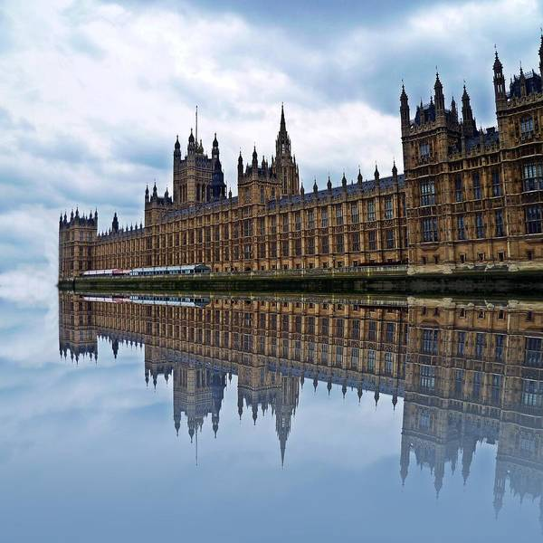 Wall Art - Photograph - Westminster Reflected by Sharon Lisa Clarke