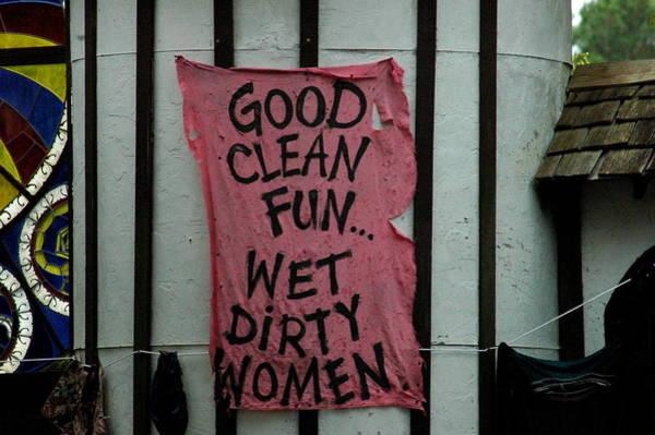 Photograph - Wet Dirty Women by Teresa Blanton