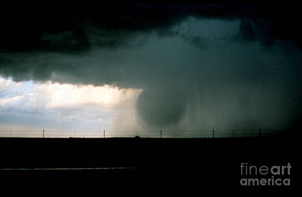 Photograph - Wet Microburst Sequence, 1 Of 4 by Science Source