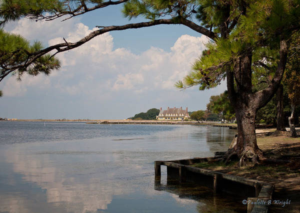 Photograph - Whalehead Club by Paulette B Wright