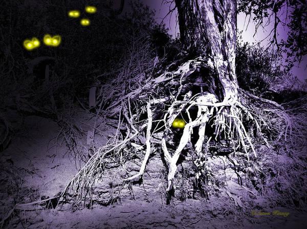 Digital Art - What Lies Along The River Banks by Susan Kinney