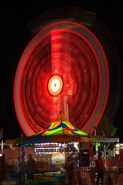 Carnies Photograph - Wheel In The Sky by Gordon Dean II