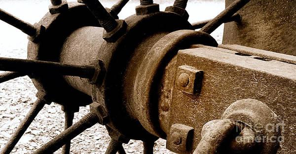 Photograph - Wheel Of Steel by Steven Milner