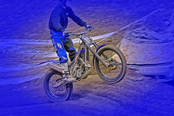 Dirt Bike Photograph - Wheeling by Karol Livote