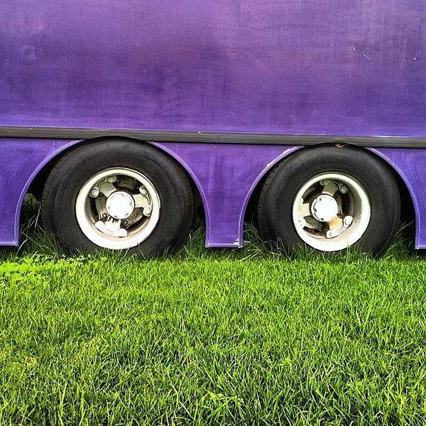 Transport Photograph - Wheels On The Bus by Brent McGilvary