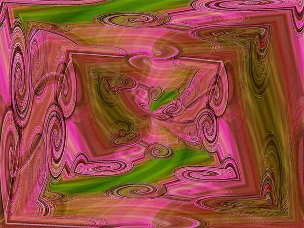 Whirl Digital Art - Whirled Peas by Tim Allen