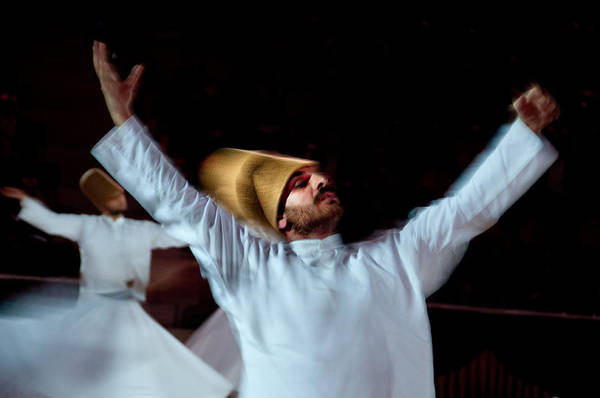 Photograph - Whirling Dervish - 4 by Okan YILMAZ