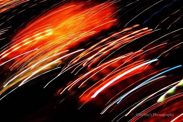 Whirlwind Digital Art - Whirling Lights by Ruth Yvonne Ash