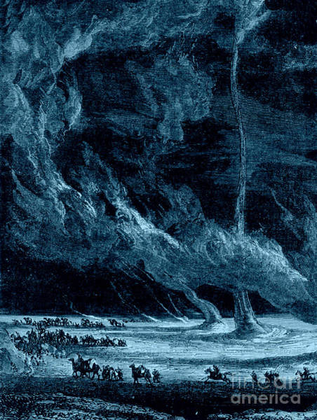 Photograph - Whirlwinds 1873 by Photo Researchers