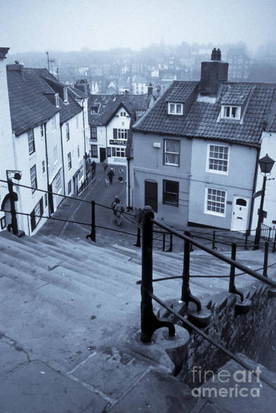 Dog Walker Photograph - Whitby In A Sea Fret by Gordon Wood