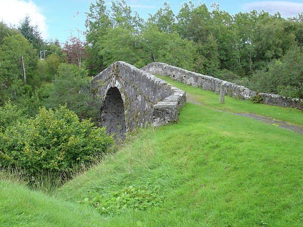 Photograph - White Bridge Scotland by Charles and Melisa Morrison