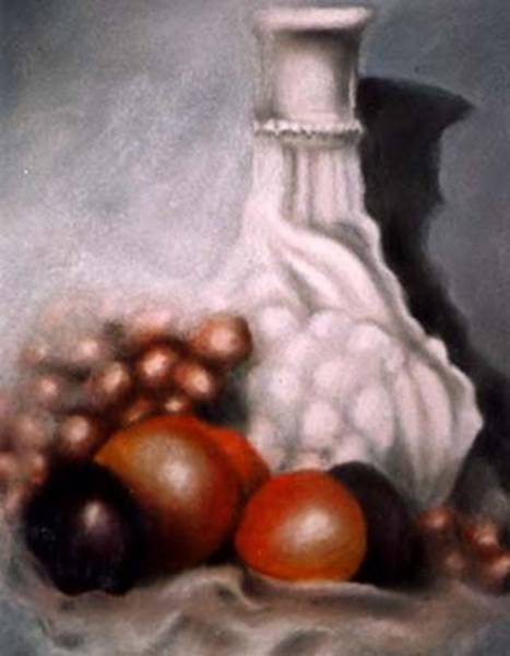 Painting - White Carafe by Jordana Sands
