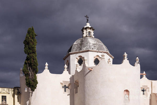 Atotonilco Photograph - White Church by Jeremy Woodhouse