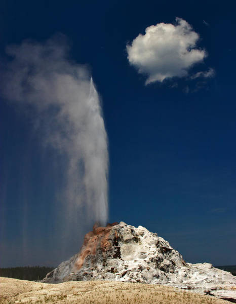 Photograph - White Dome Geyser by Charles Kozierok