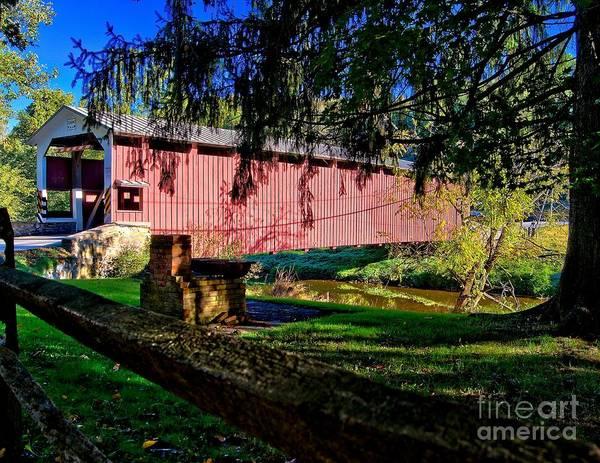 Photograph - White Rock Bridge by Nick Zelinsky