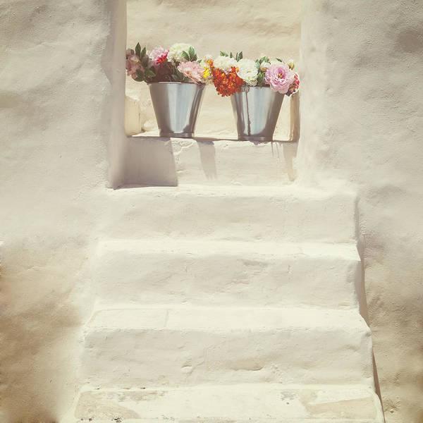 Wall Art - Photograph - White Steps by Joana Kruse