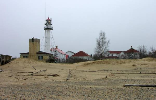 Wall Art - Photograph - Whitefish Point Light Station by Keith Stokes