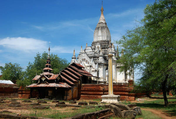 Photograph - Whitewashed Lemyethna Temple by RicardMN Photography
