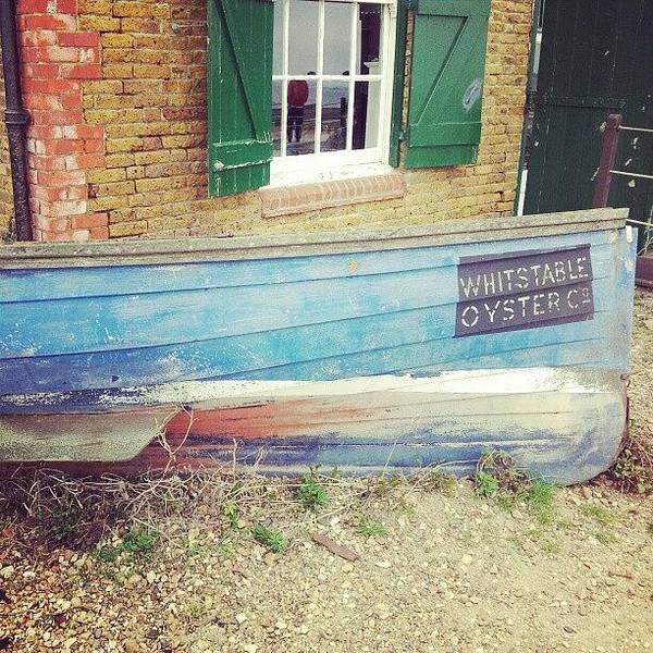 Grace Wall Art - Photograph - Whitstable Oyster Boat by Grace Bryant