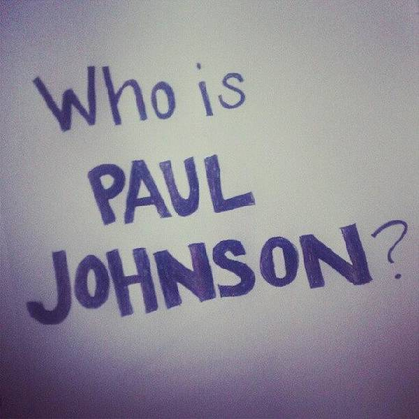 Political Wall Art - Photograph - Who Is Paul Johnson? #ronpaul by Ag E