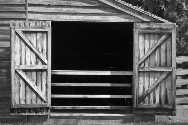 Wall Art - Photograph - Who Opened The Barn Door by Teresa Mucha