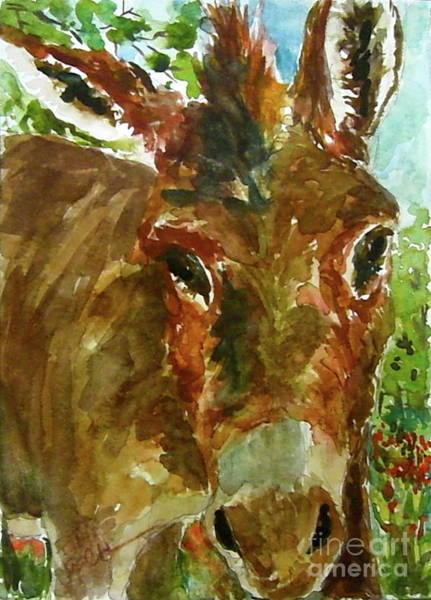 Painting - Whose Manger Is This Anyway by Patsy Walton