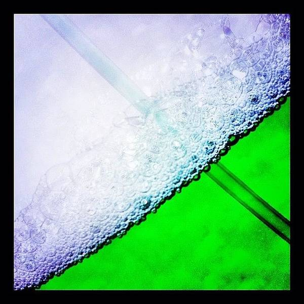 Food And Beverage Wall Art - Photograph - Wild Green Fiendy Liquid by Mark B