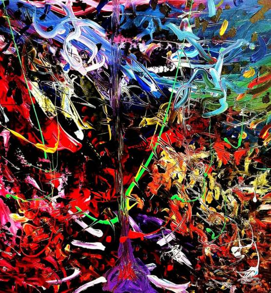 Painting - Wild Whipblash by Neal Barbosa