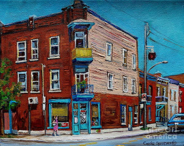 Painting - Wilensky's Light Lunch Plateau Montreal by Carole Spandau