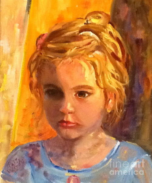 Painting - Willa by Patsy Walton