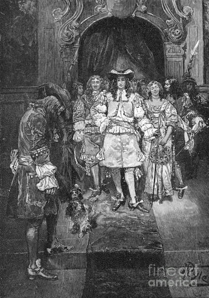 Royal Colony Photograph - William Penn And Charles II by Granger